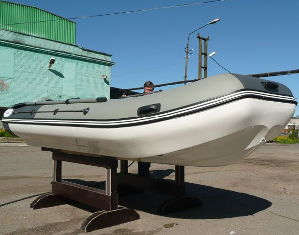 Лодка water way 390 риб