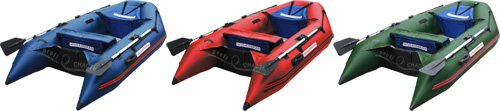 MUSSON 270: возможные цвета лодки