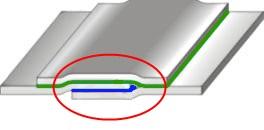 Склейка слоев маериала