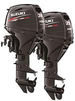 Новые модели моторов Suzuki - DF 25 и DF 30
