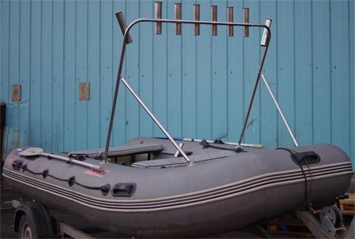Тарга для троллинга своими руками на лодку пвх