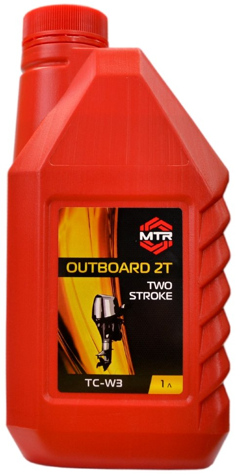 Масло MTR Outboard 2T, TC-W3, 1л