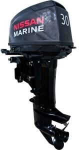 лодочный мотор nissan marine 30 hep 1