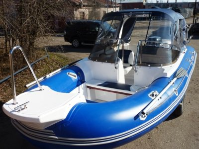 Лодка РИБ SkyBoat 520 RT +